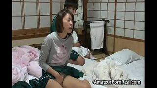 japanese teen girl bored home fucked by stepbrother