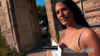 █ Tanned Busty Milf ZARA MENDEZ Bang in German Hotel █ FULL SCENE – 100% – from the new series WOLF WAGNER LOVE wolfwagner.love