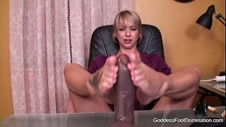 Live Foot Domination Session with Goddess Brianna