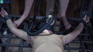 one perverted couple t. restrained bitch in gas muzzle elise graves hard mobile sex